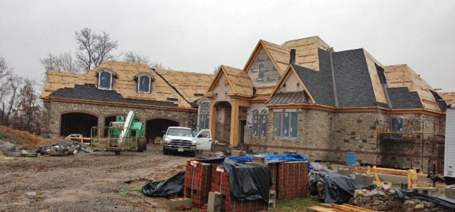 Construction Progress of the Capistrano Plan #1227-D. Choosing Your Home Builder