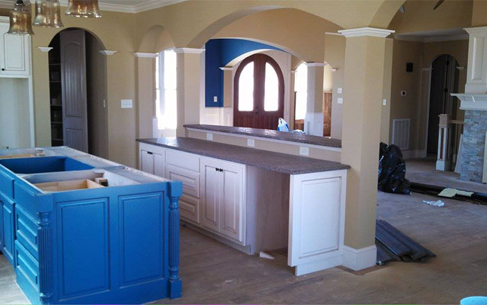 Kitchen and interior: The Chatsworth Home Plan #1301