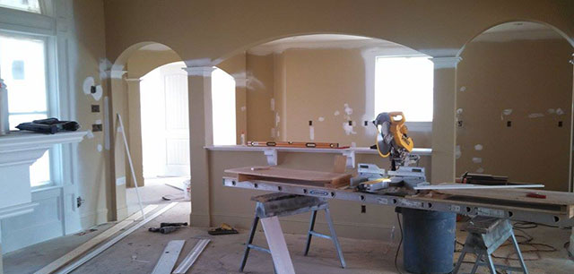 Construction Progress of the Chatsworth Plan #1301-D: Choosing Your Home Builder