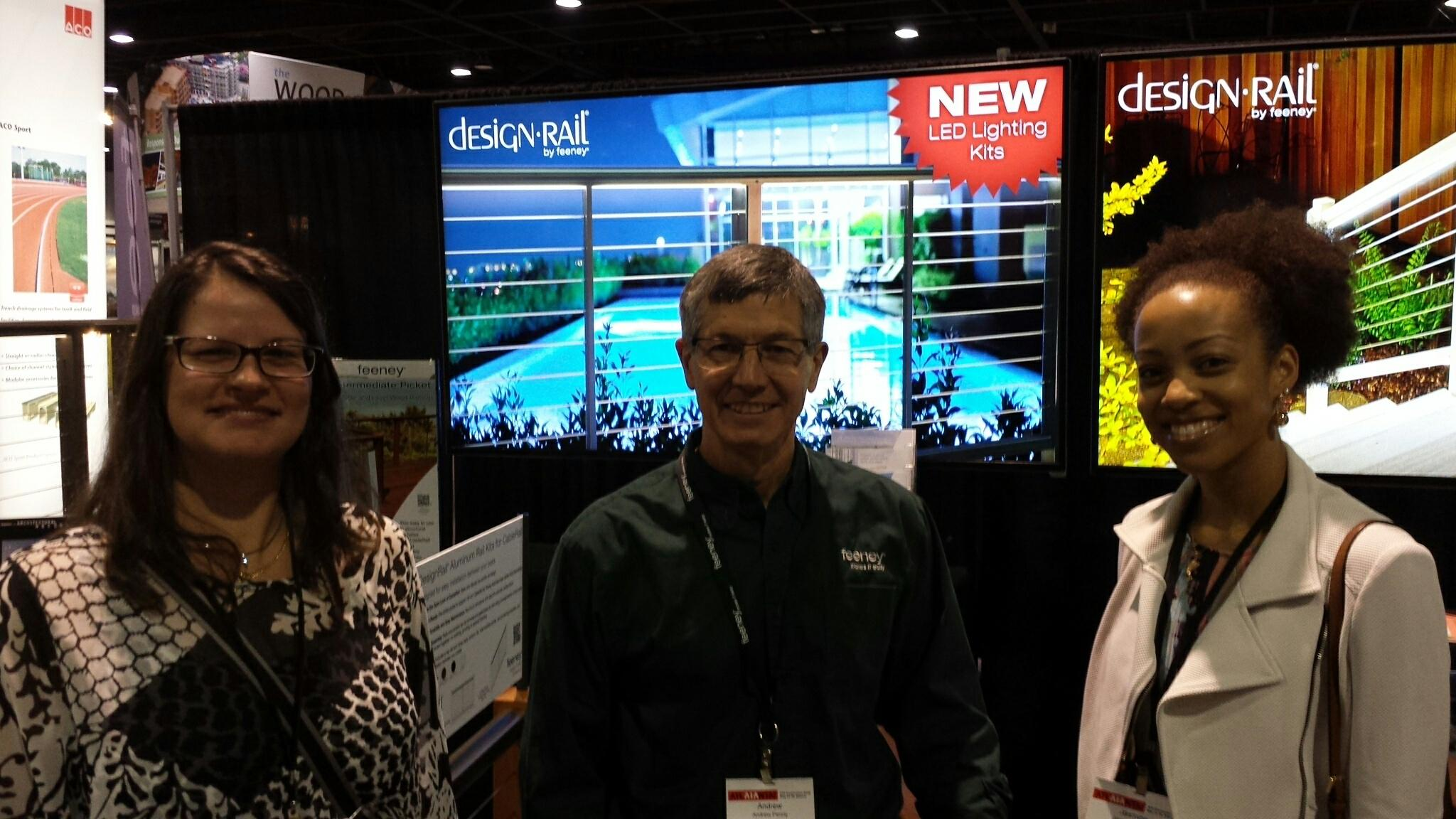 Feeney Booth at AIA Convention 2015, Featuring Kleber & Associates