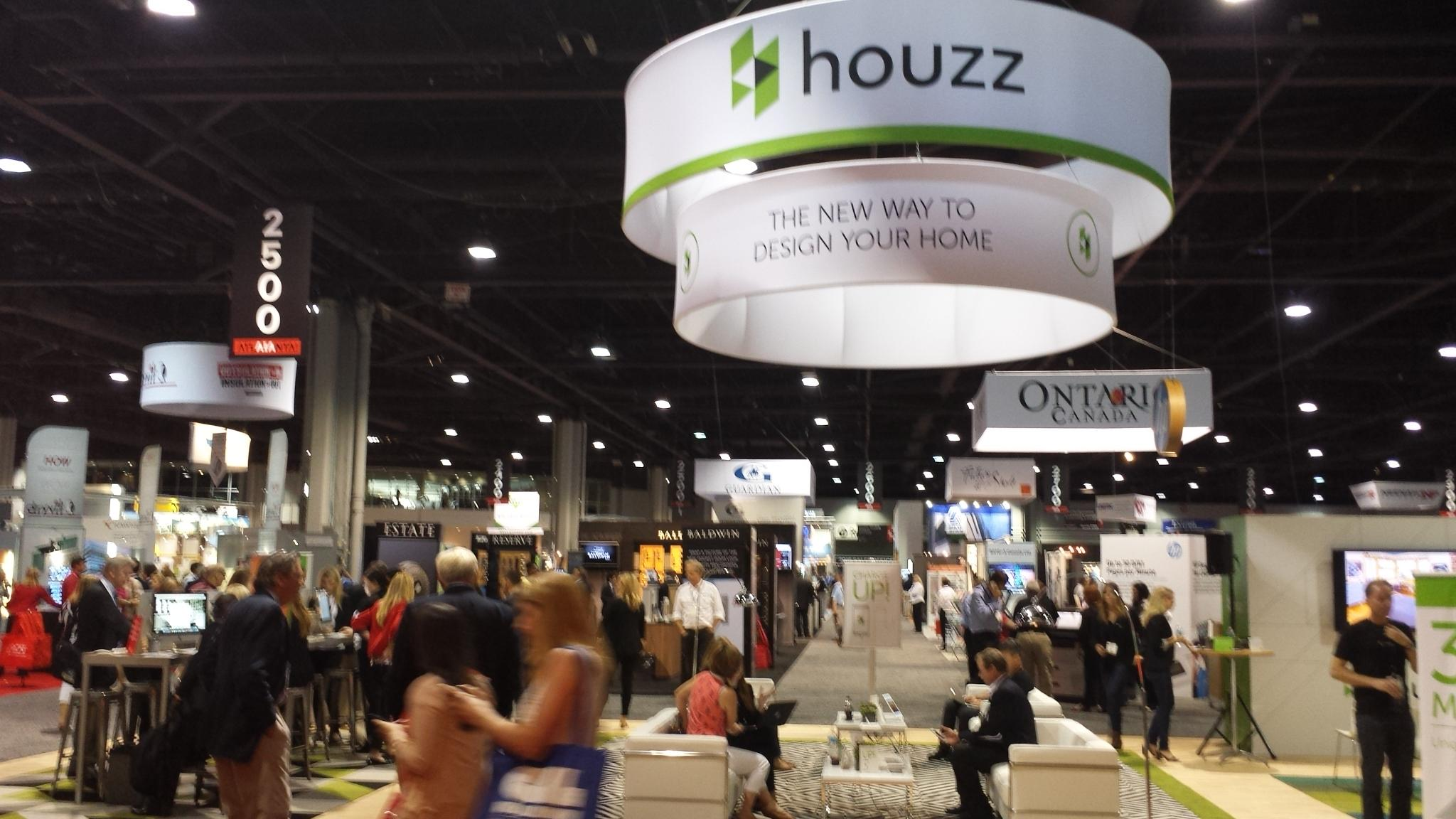Houzz Booth at AIA Convention 2015