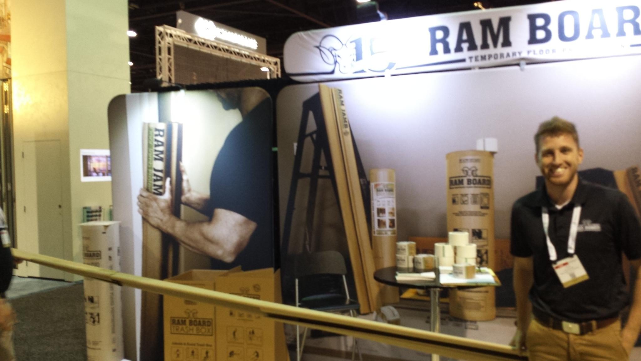 Ram Board Booth at AIA Convention 2015
