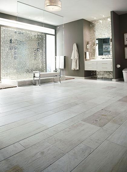 Unconventional Bathroom Flooring Don Gardner House Plans