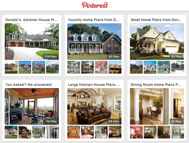 Pinterest - find photos and inspiration for your Don Gardner home