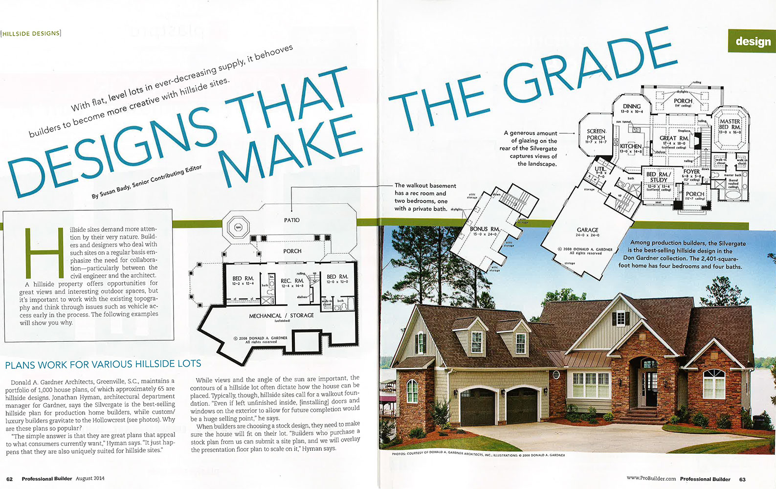 Home Designs: Making the Grade - Professional Builder Magazine