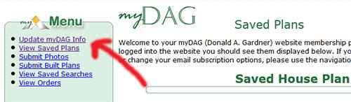 Update myDAG Info