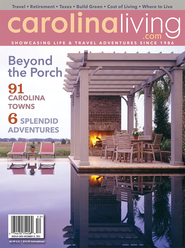 Carolina Living Article: Beyond the Porch