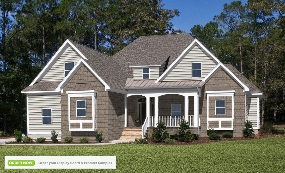 Choosing Exterior Coloraterials For Your New Home Can Be Intimidating But Homeplay From Royal Building Products Helps You Visualize The Finished