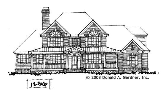 Front Elevation - Conceptual Design #1256
