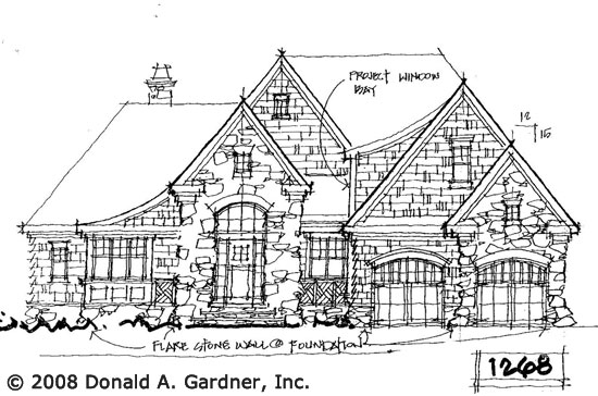 Front Elevation - Conceptual Design #1268