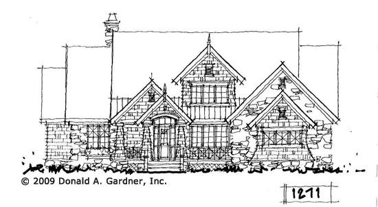 Front Elevation - Conceptual Design #1271
