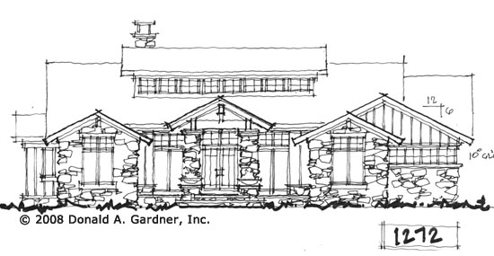 Front Elevation - Conceptual Design #1272
