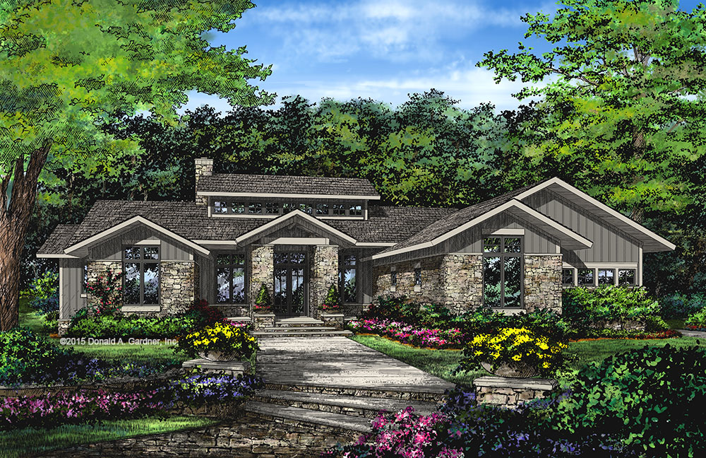 Home Plan #1272 - now available