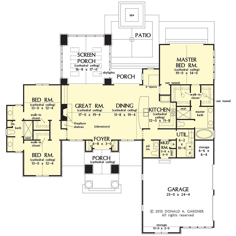1272-con floor plan: Now in Progress!