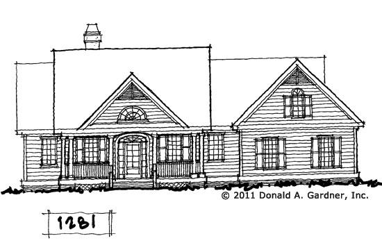 Front Elevation - Conceptual Design #1281