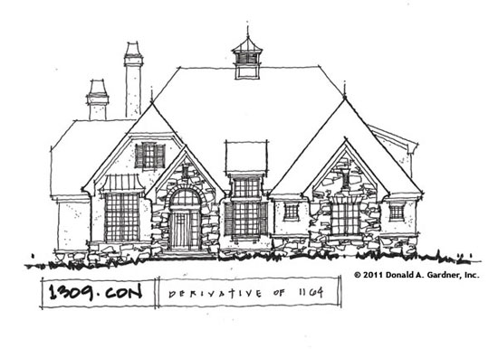 Front Elevation - Conceptual Design #1309