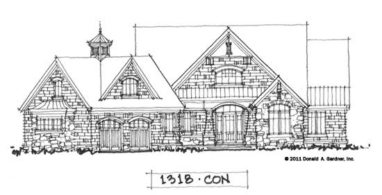 Don Gardner House Plans On The Drawing Board