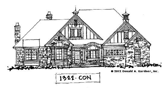 Front Elevation - Conceptual Design #1322