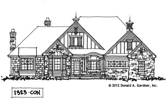 Front Elevation - Conceptual Design #1323