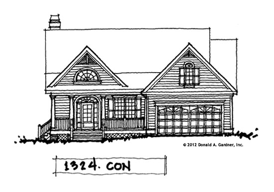 House Plan #1324 The Darcy is Now Available