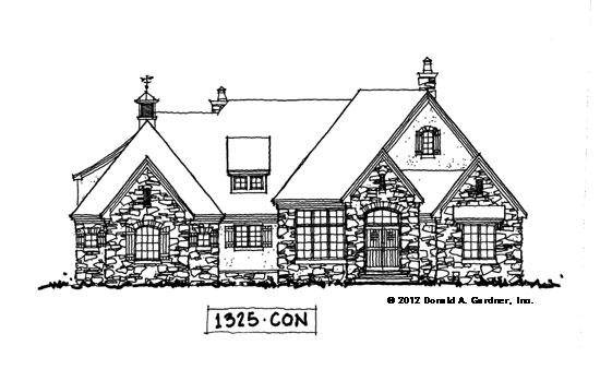 Front Elevation - Conceptual Design #1325