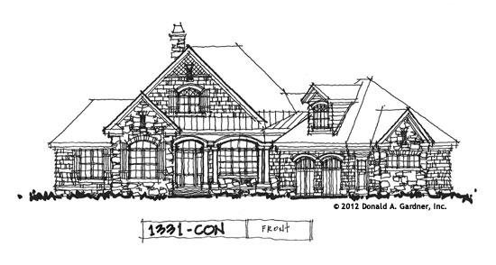 Front Elevation - Conceptual Design #1331