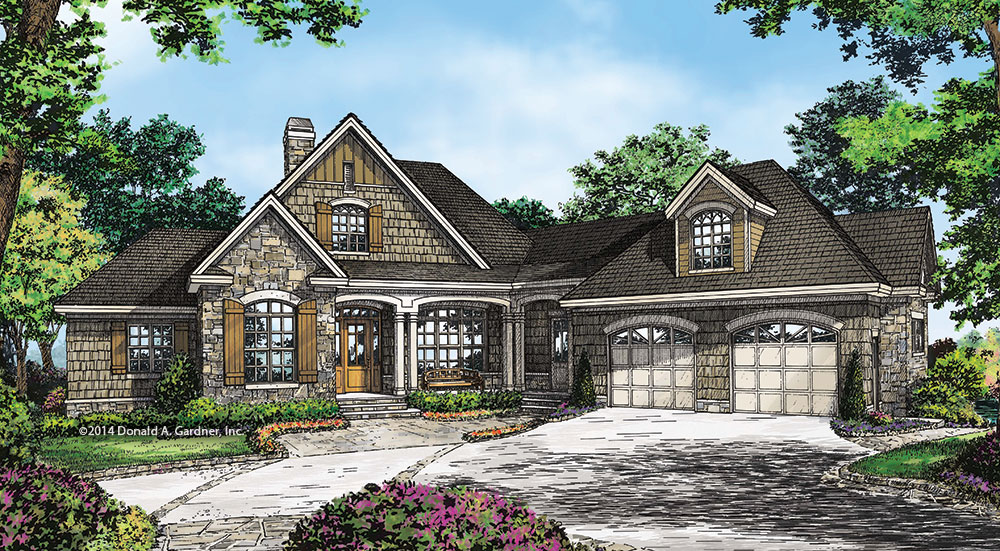 House Plan #1331 - The Ironwood
