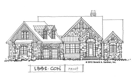 Front Elevation - Conceptual Design #1332