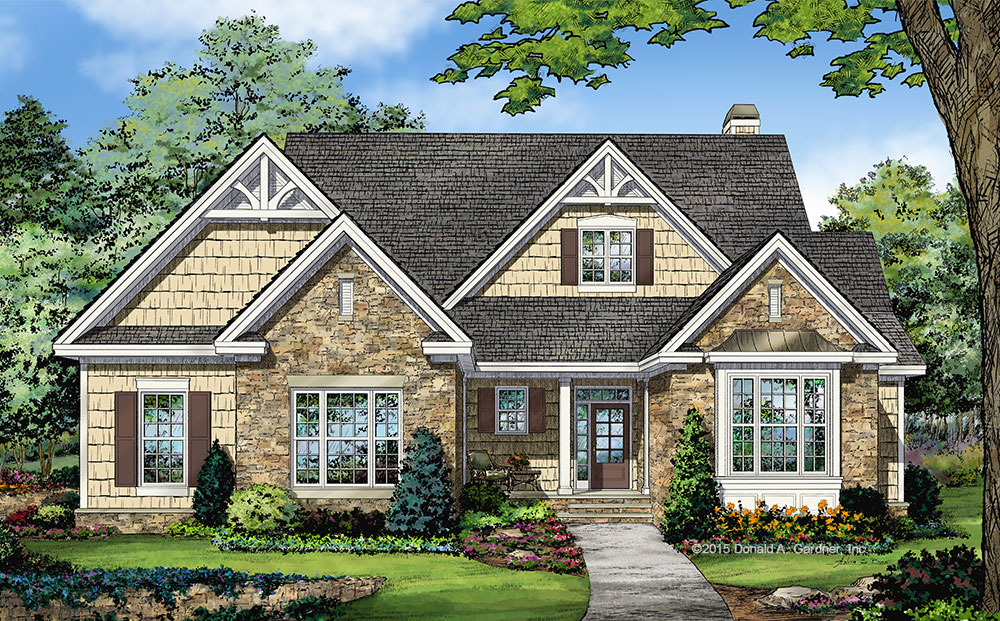 click here to see our new home plan 1341 the tucker - New Home Plan Designs