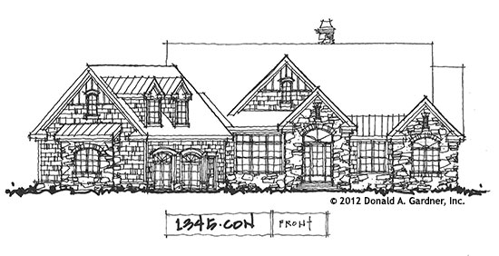 Home Plan #1345, Now Available