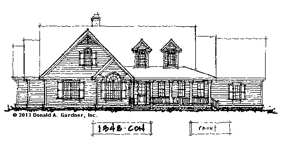 House Plans on the Drawing Board - Plan #1348