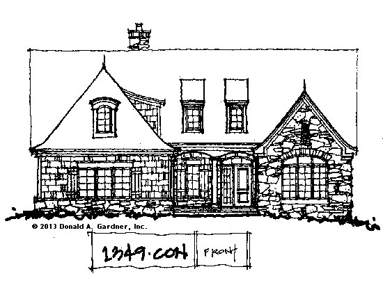 House Plans on the Drawing Board - Plan #1349