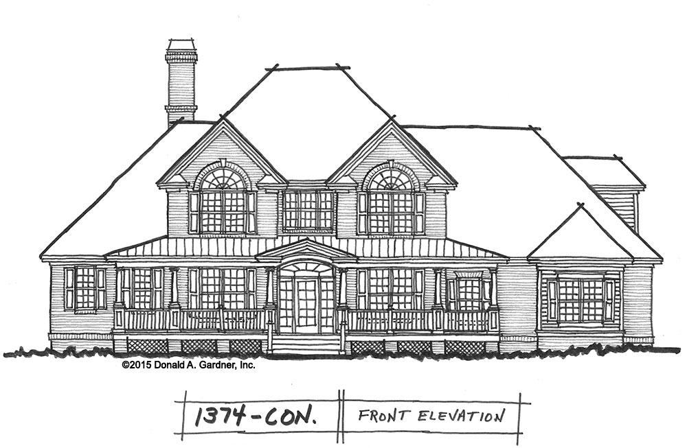 Home plan 1374 is now in progress.