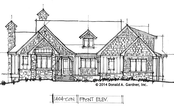 Cottage Conceptual Design 1404 - Now Available
