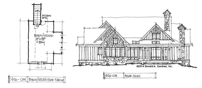 House plan #1406 - The Roark is now available