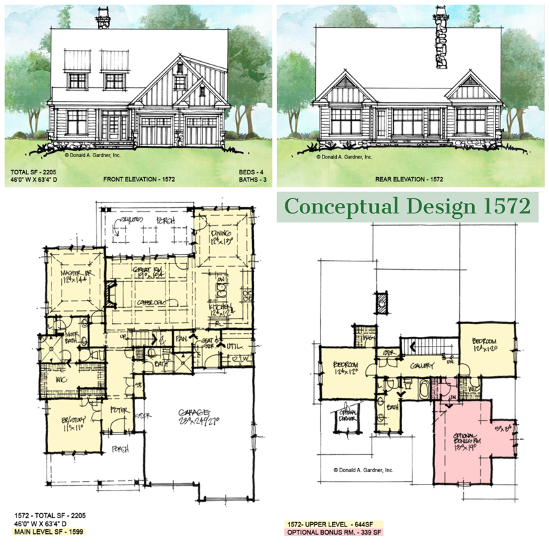 Overview of conceptual design 1572.