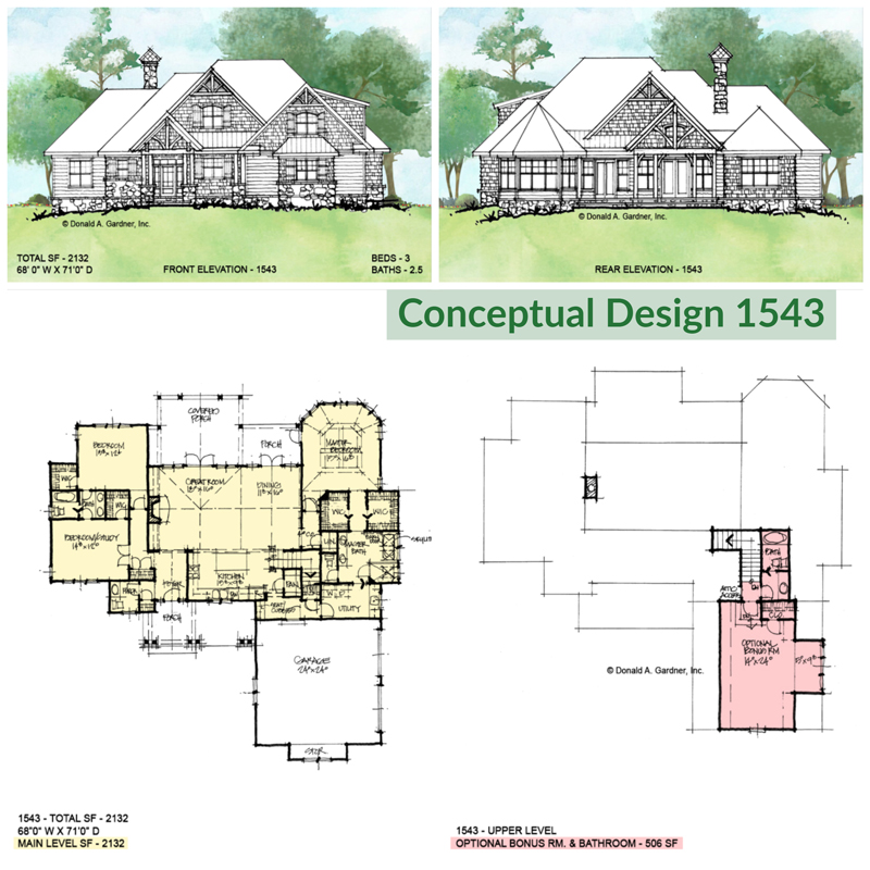 Overview of conceptual design 1543.