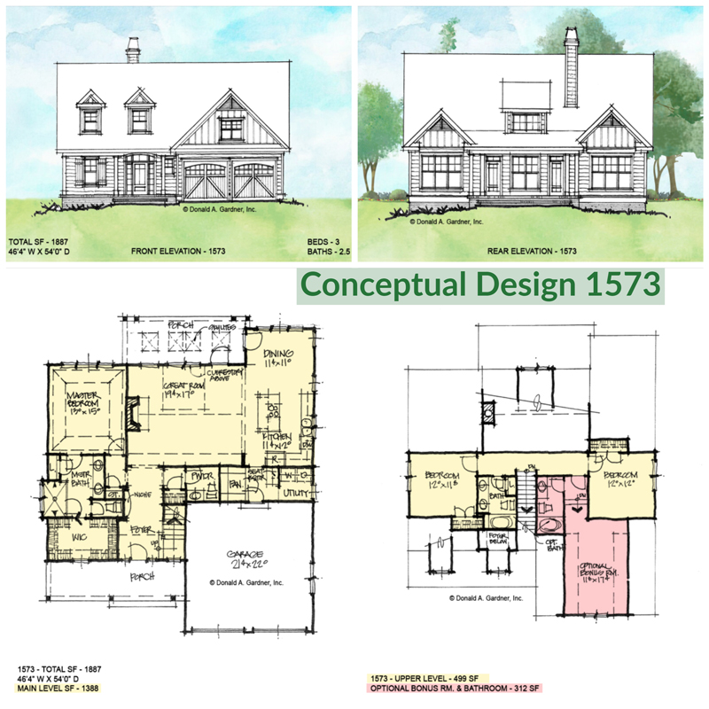Overview of conceptual design 1573.