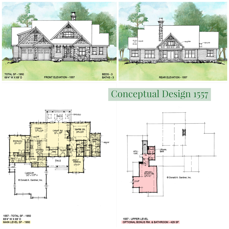 Overview of conceptual design 1557.