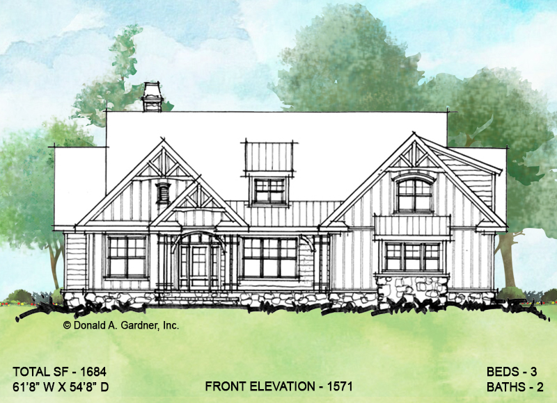 Conceptual home plan 1571