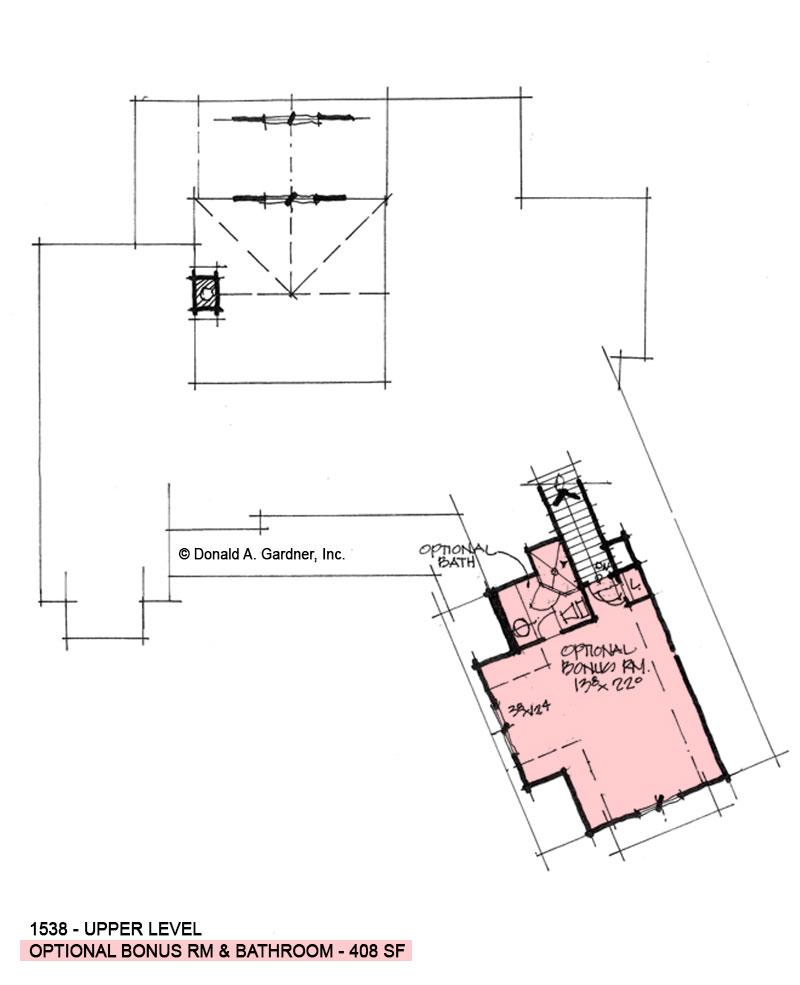 Bonus room of conceptual design 1538.