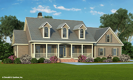 House plan styles search best home designs floor plans for Simple cape cod house plans