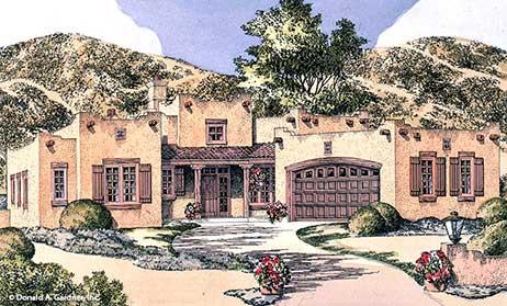 Southwest Home Plans Magazine House Design Plans