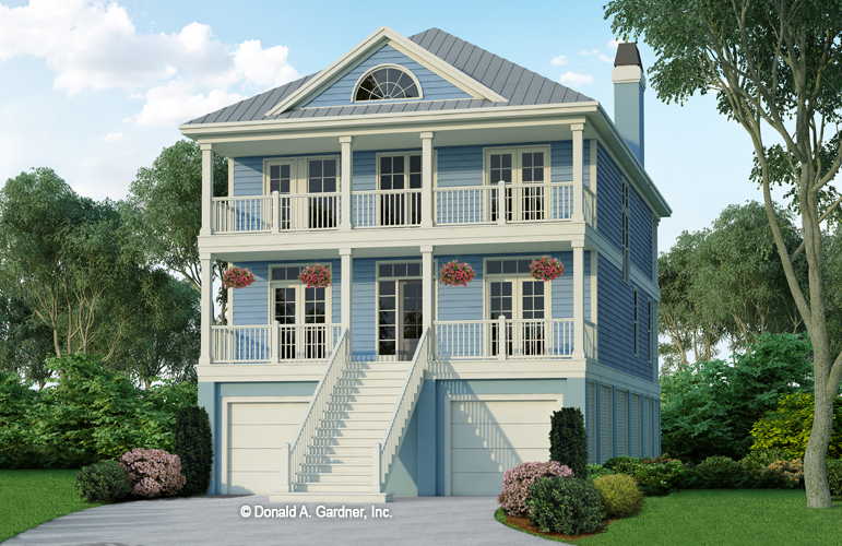 Raised Beach House Plans