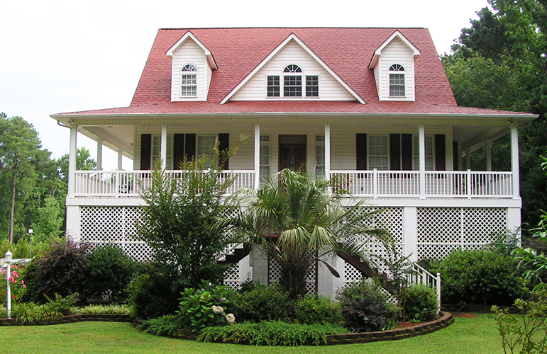 Raised Beach House Plans