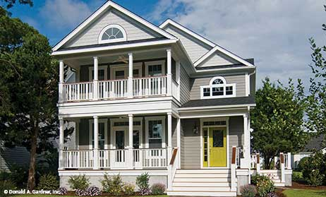 Charleston Style Home Plans