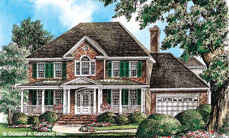Colonial Home Plans