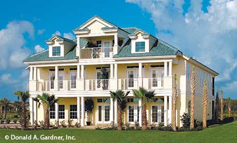 Wonderful Floridian Home Plans