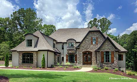 french country home plans - French Country Ranch House Plans